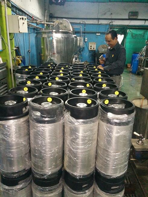 Beer Keg Tracking
