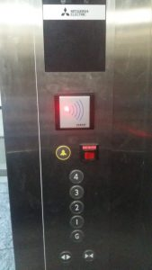 DDS Elevator Access Control on Mitsubishi elevator