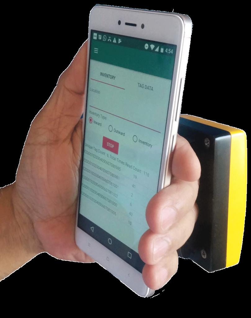 Hands free Bluetooth Reader